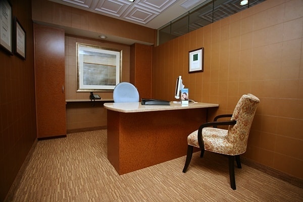 Our modern dental office is designed to make you feel at home.
