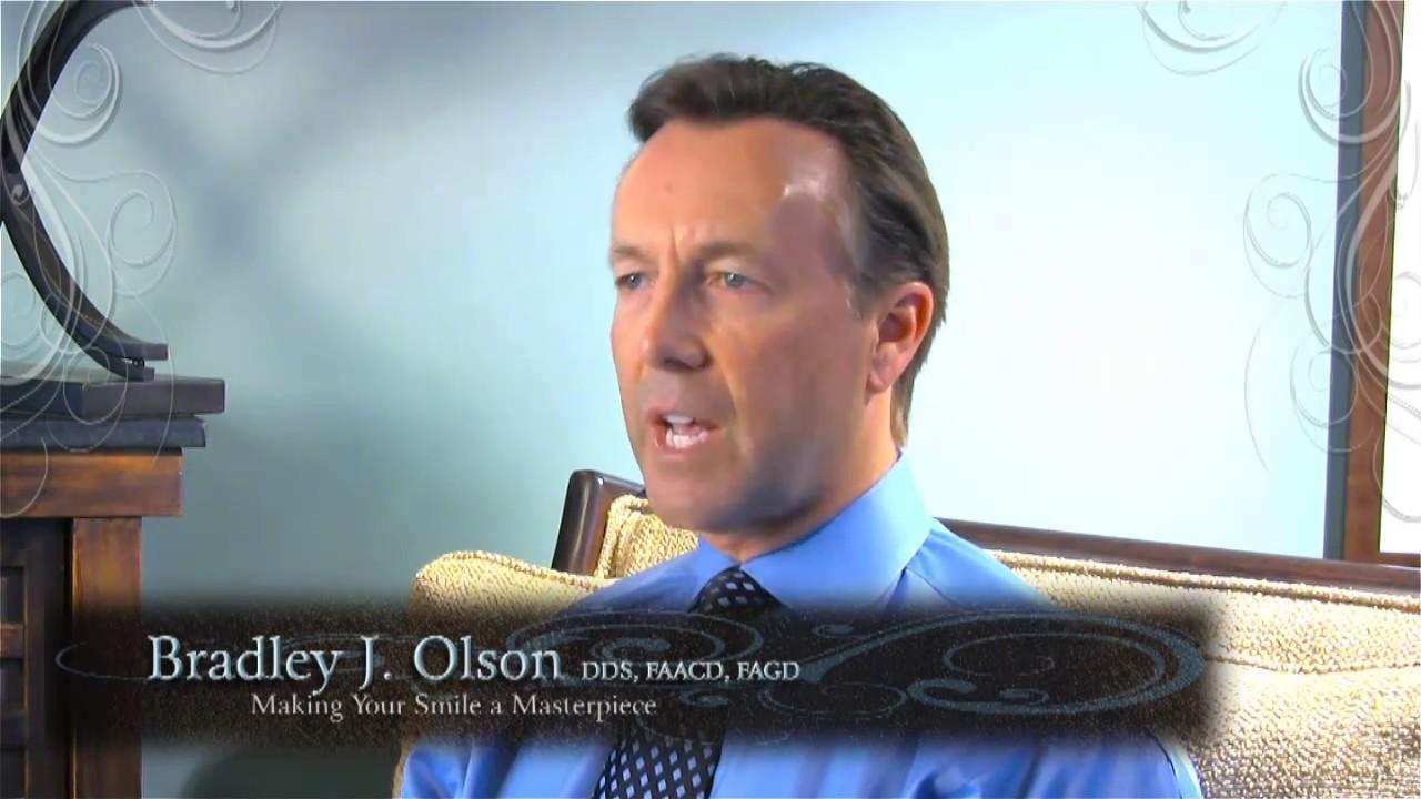 Dr. Bradley Olson on a sofa