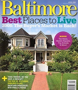 Cover of Baltimore Best magazine