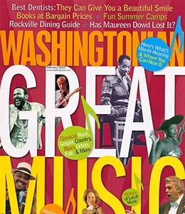 Cover of Washingtonian magazine