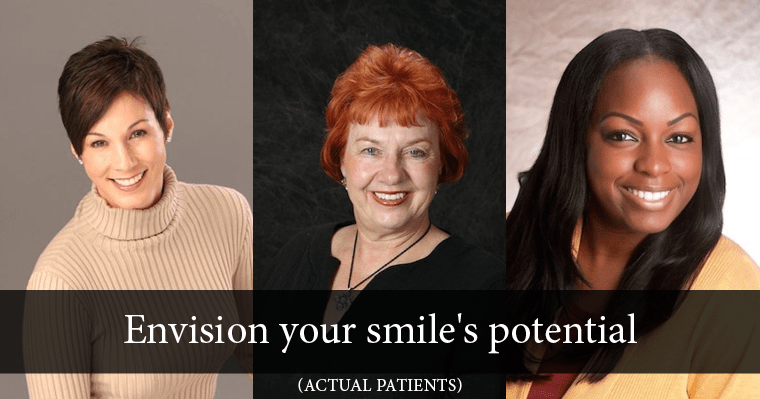Envision the possibilities for your smile by comparing some of our patient's smile makeovers!