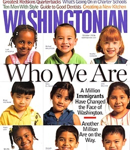 Cover of Washingtonian Magazine.