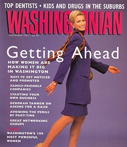 Cover of Washingtonian Magazine