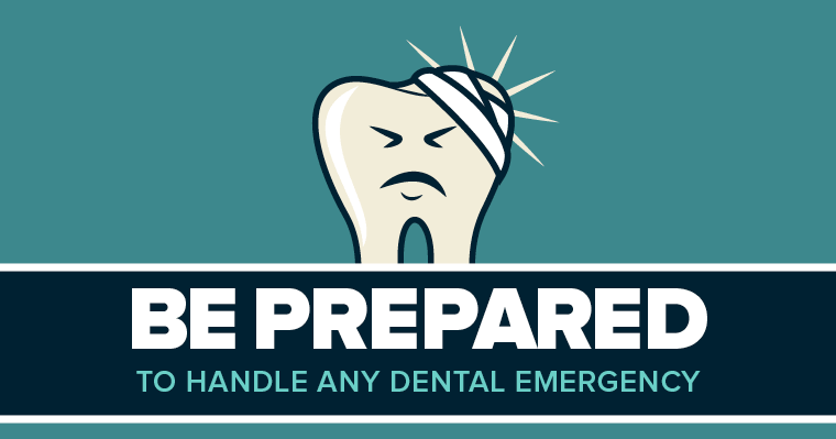 Learn how to handle common dental emergencies.